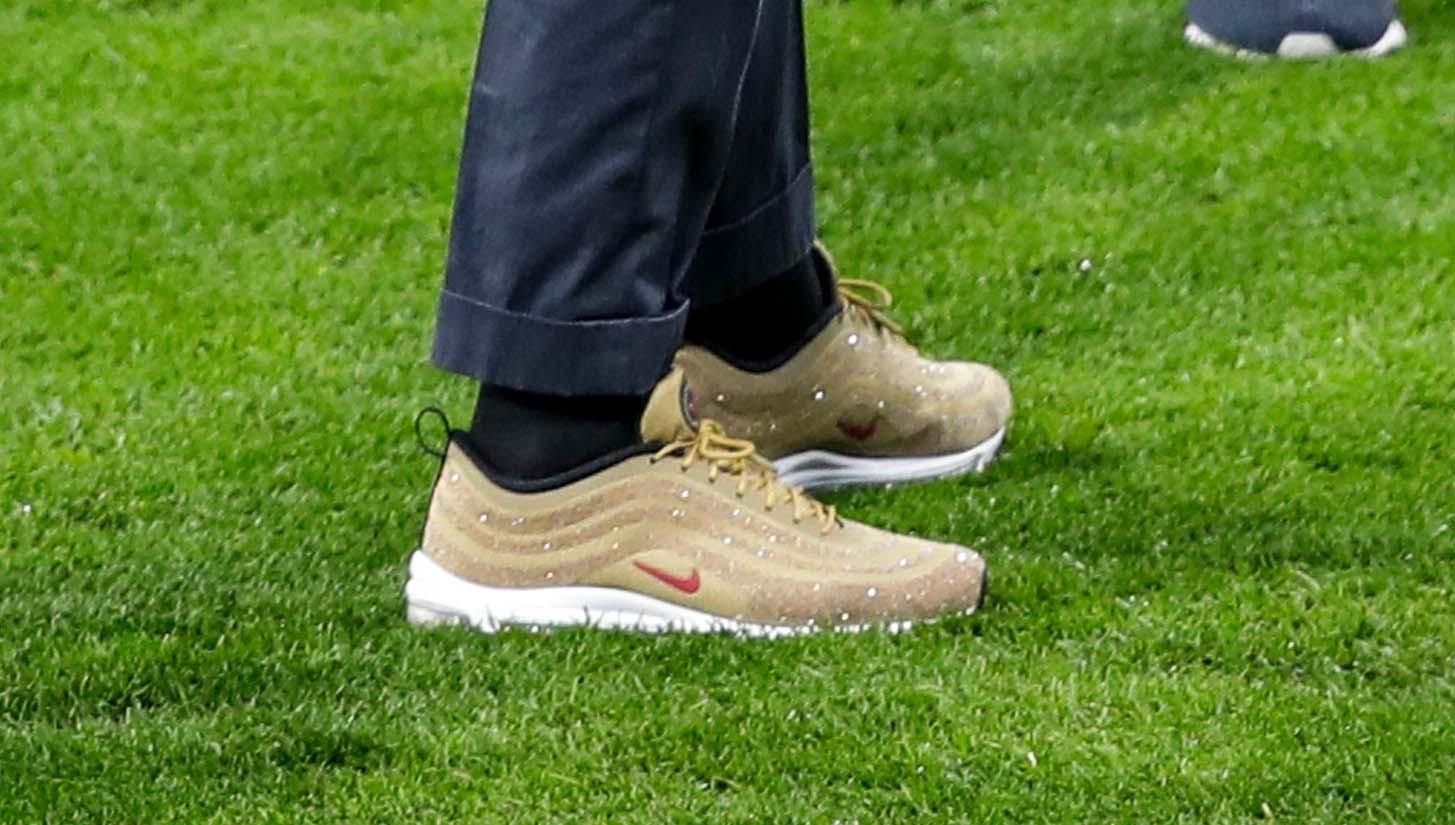 Ronaldo wears signature Swarovski Nike