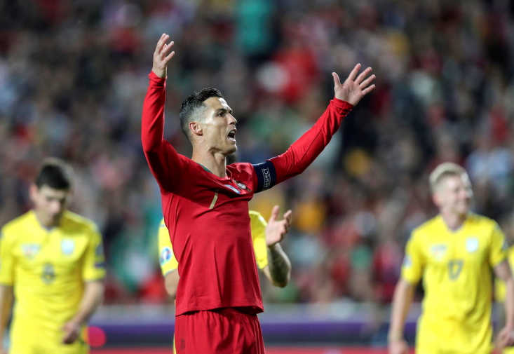 Portugal 0-0 Ukraine: Ronaldo in form but European Champs can't secure a win