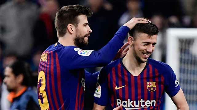 Image result for lenglet pique barcelona