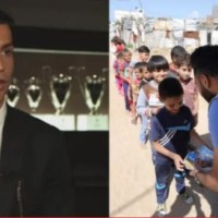 Ronaldo surprised with his gesture, donates €1.5 million to feed Palestinians for iftar