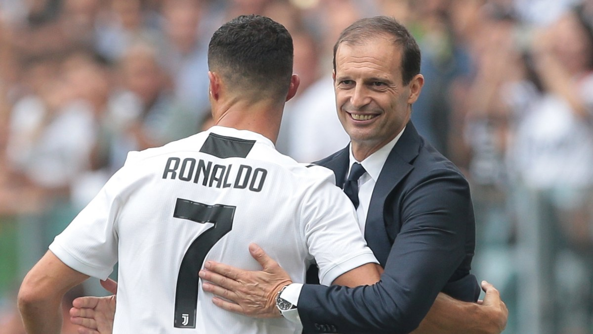 Allegri: 'Ronaldo and Mandzukic are out'