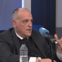 Tebas believes Florentino has had an effect on the way VAR is used in Spain
