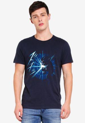 buy kamehame goku navy blue tshirt only on 9tails apparels