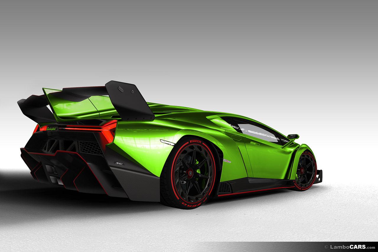 But do you know how m. Green Lamborghini Veneno 2014 HD Wallpaper - 9to5 Car