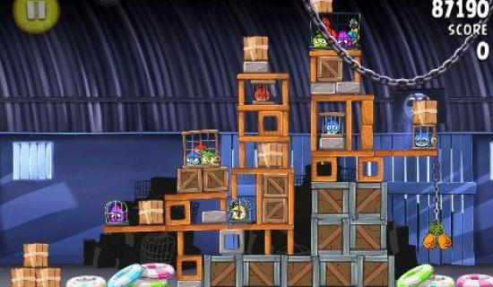 angry birds rio new 15 levels