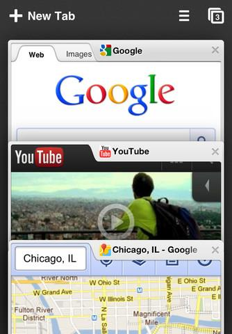 chrome iphone browser