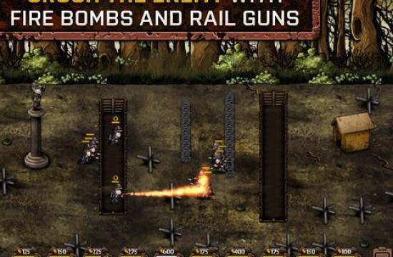 trenches II iphone game