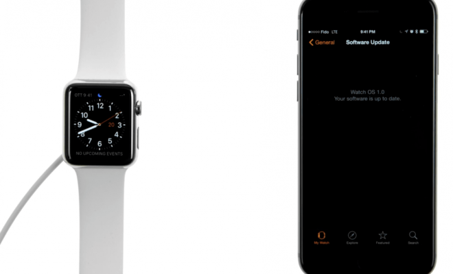 Apple Watch OS how to update