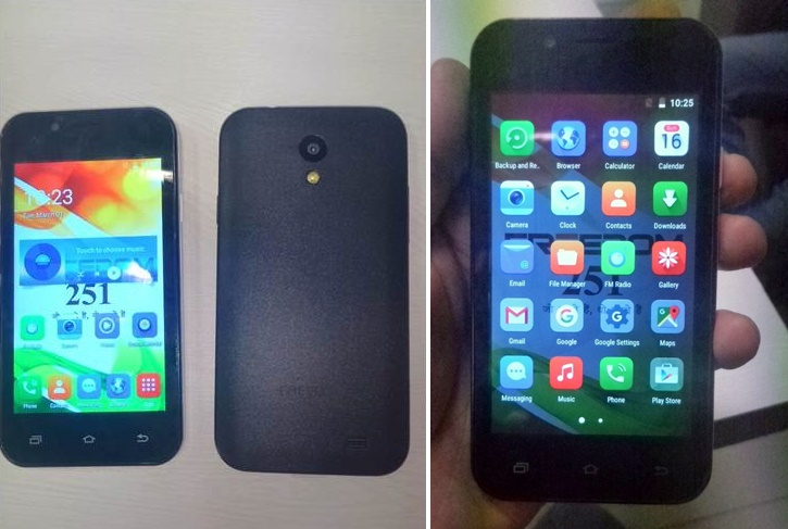 All new photos of Ringing Bells Freedom 251 smartphone. (Source: IANS)