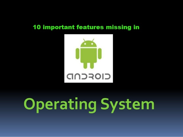 Android_Features