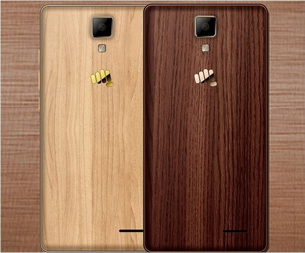 micromax-canvas-5-lite-3gb-ram-wooden-panel-launch