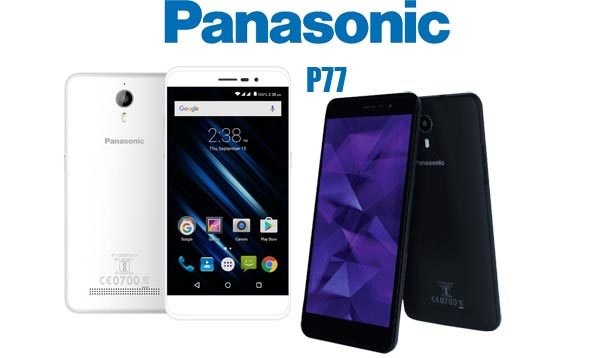 Panasonic P77 (Grey & White Color Options)
