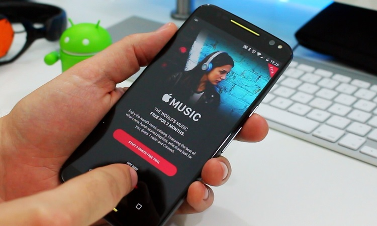 apple music app for android free download