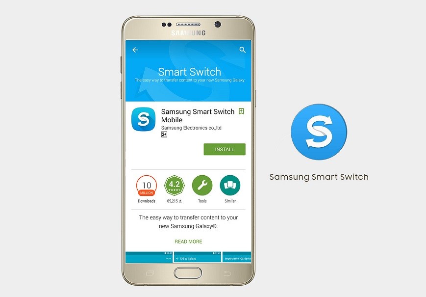 Samsung Smart Switch app's update lets you transfer data from WP 8 1