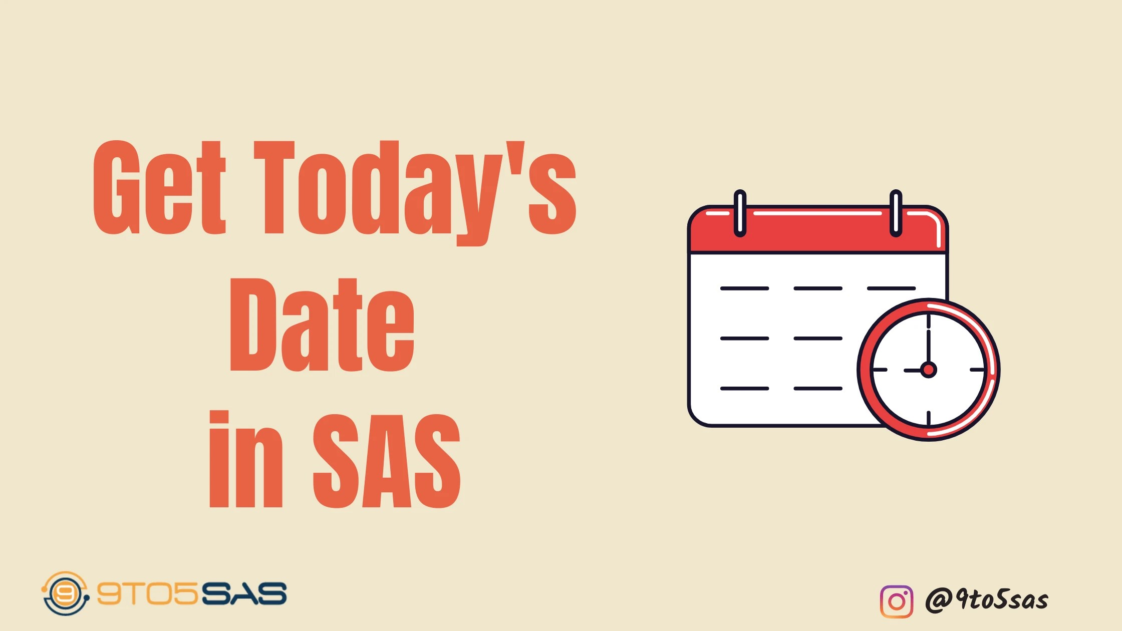 today's date in SAS