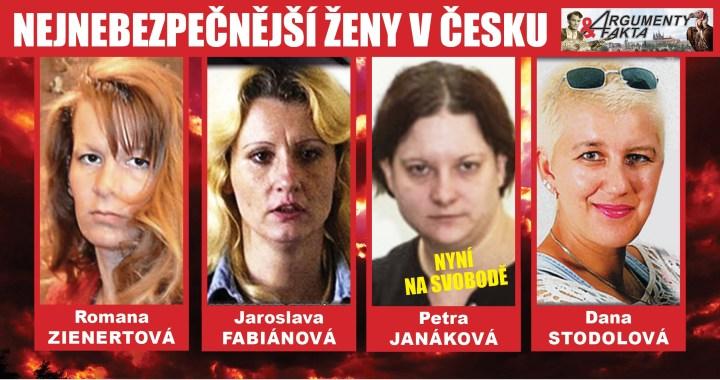 Tohle jsou nejnebezpečnější ženy Česka. Dohromady zabily 17 lidí. Pokud otěhotní, dostanou se také na svobodu – jako vražedkyně Janáková?