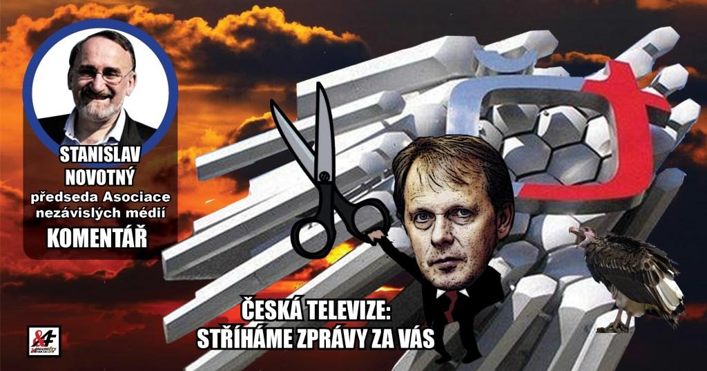 Stanislav Novotný: Zrušte koncesionářské poplatky! Už ani korunu České televizi a Českému rozhlasu