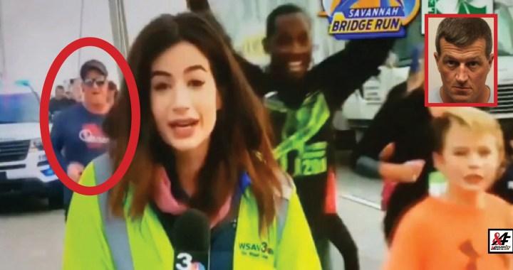 """Jen pro otrlé! Rozjařený běžec plácl TV moderátorku po zadku, když ji míjel. VIDEO. Dostala šok: """"On mě zmáčkl!"""" """"Nezmáčkl!"""" namítá muž, kterému hrozí rok vězení a již teď dostal plným právem zákaz běhat"""