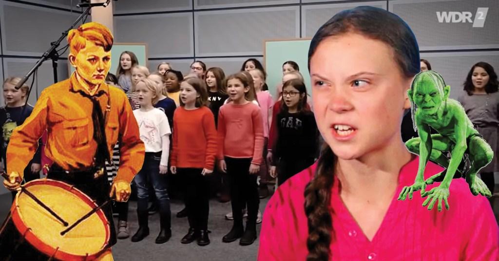 """Gretajugend: """"Moje babička je stará ekologická svině!"""" Nová odporná vánoční píseň německých dětí jako propaganda neexistující klimatické krize"""