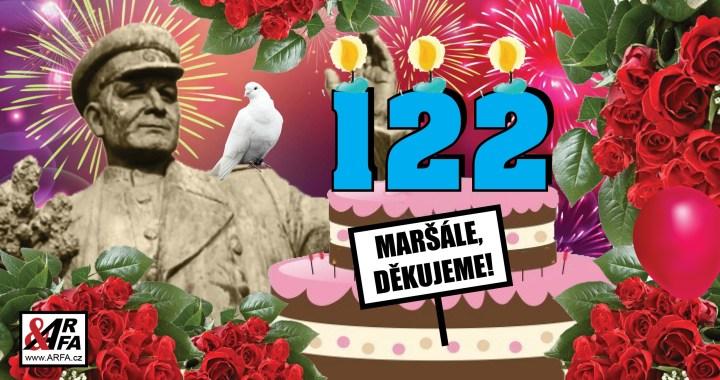 """Maršál Koněv slaví narozeniny: """"Byl to skvělý vojevůdce, hrdina epických rozměrů. Když osvobodil Prahu, zabránil masakru,"""" říká Josef Skála (KSČM). """"Je to zrůda. Spláchl bych ho do záchodu,"""" říká Pavel Novotný z extrémistického křídla ODS"""