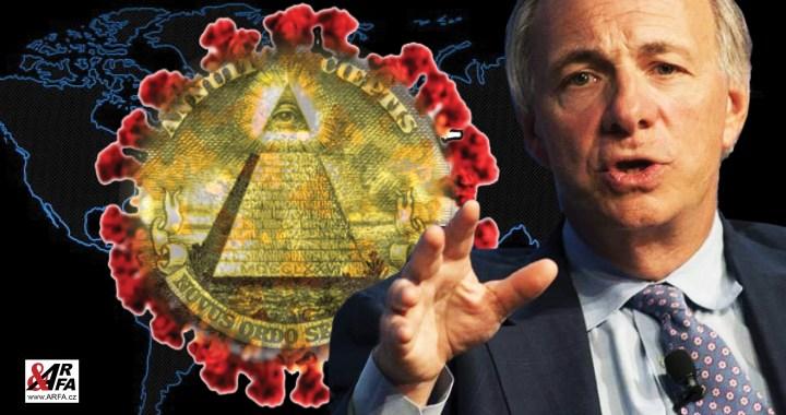 Věděl, že přijde koronavirus? Největší fond na světě Bridgewater vsadil loni na podzim 1,5 miliardy dolarů, že do března dojde k prudkému propadu cen akcií burze. Teď sází 14 miliard proti Evropě