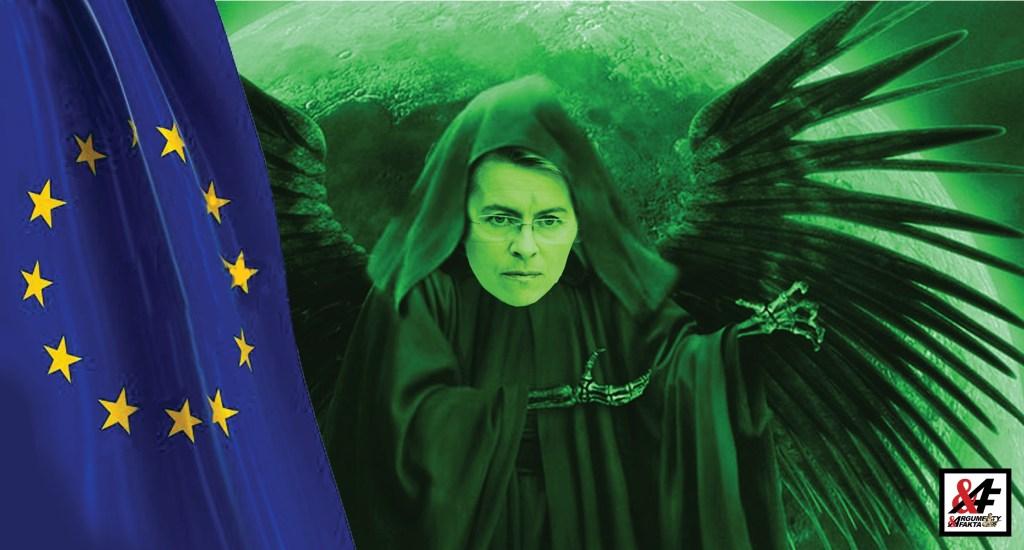 """Vydírání koronavirem? Evropská unie zběsile tlačí šílený """"Nový zelený úděl"""", i když je evropská ekonomika v troskách kvůli pandemii. Kdo nepřijme náš zelený plán, ať si pomůže sám?"""