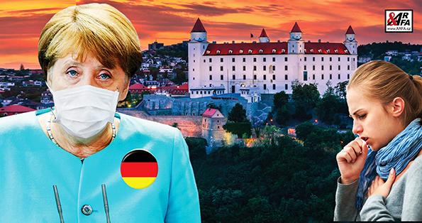 To snad ne! Němci vyfoukli roušky proti koronaviru za 30 milionů korun Slovákům před nosem. Prostě je tajně přeplatili. V zemi vypukla válka o roušky