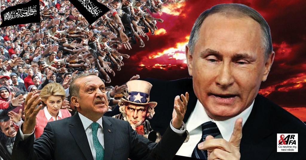 Tak blízko! Rusko se dohodlo s Tureckem na příměří v Sýrii… Konec migrantské vlny? USA jim do toho hodilo vidle. Islamizace Evropy… multikulturní transgender kotel s příchutí čehosi zeleného… Ale proč vlastně?