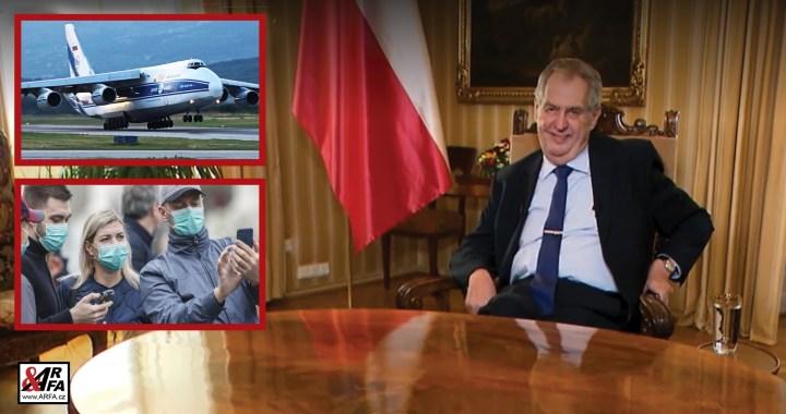 Bravo! Skvělý projev prezidenta Zemana ke koronaviru. Poděkování Číně za pomoc. Pohlavek opozici (k pumpám!), uvřeštěným novinářům a štěkajícím hercům. Doslovný přepis