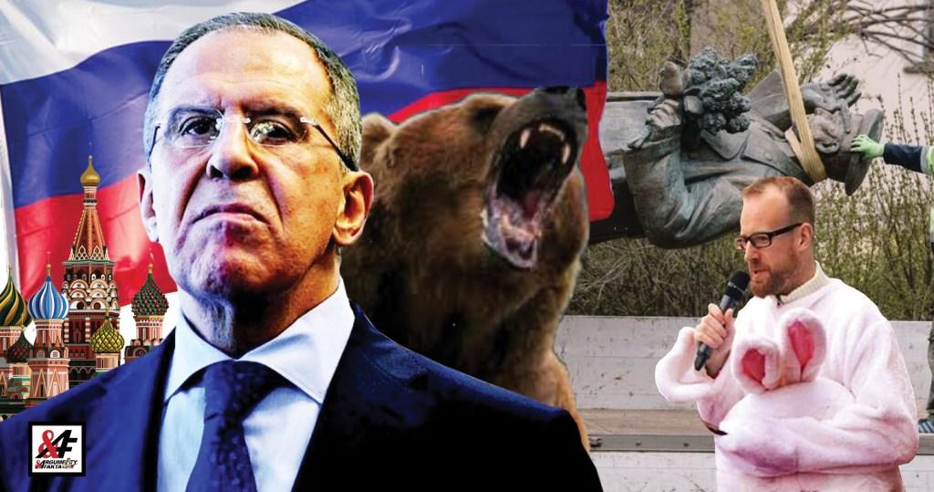 Koláři, bacha, jde po tobě Lavrov! Nejmocnější muž světové diplomacie shlédl na lokálního kariéristu a nešetřil ostrými slovy pohrdání. VIDEO. Ve všem prý má prsty americká firma Kolářova otce
