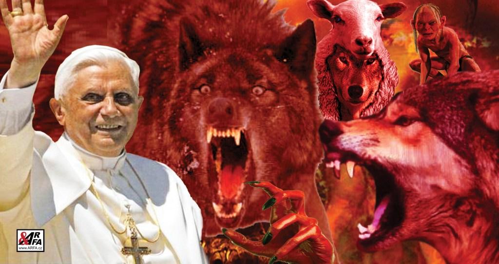 Emeritní papež Benedikt XVI (Joseph Ratzinger): Nová kniha o temném zákulisí Vatikánu, o vlcích, kteří ho roztrhali, vydírání z USA a konci katolické církve