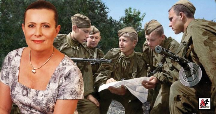 Alena Vitásková: JEN TŘI ZE STA dvacetiletých kluků se dožilo konce 2. světové války. Nedovolme lokajským falzifikátorům dějin, aby vyráběli nenávist a spory mezi lidmi, nepřátelství mezi národy