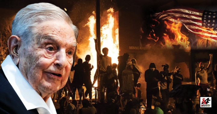 """Potvrzeno: Miliardář Soros platil hnutí Black Lives Matter, které v USA rabuje obchody, zapaluje budovy a policejní auta. Uvnitř video: """"Jak jsem udělal Havla prezidentem"""""""