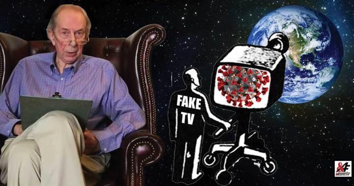 """""""Média a vlády produkují lži s udivující lehkostí. Největší lež je ta, že je koronavirus nebývalá hrozba pro naše zdraví,"""" říká Dr. Coleman. """"Nenechme ty darebáky vyhrát."""""""