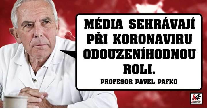 """Profesor Pavel Pafko (80): """"Role médií v době koronaviru je odsouzeníhodná. Máme zalézt pod postel a bát se, až si nás smrt vybere? Tlak na starší lidi je obrovský,  přibylo depresí."""""""