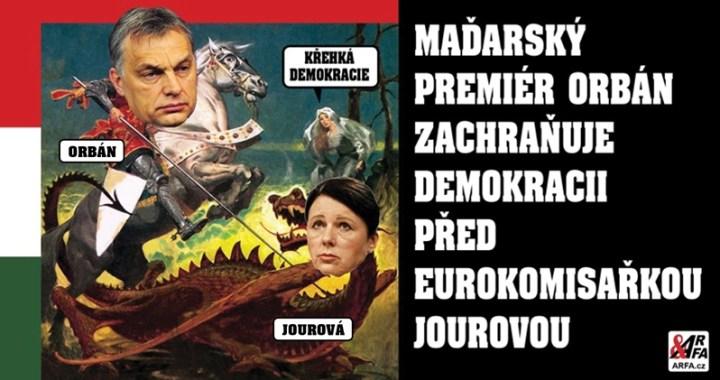 """""""Odvolejte Jourovou!"""" Maďarsko vrací úder. Po nenávistném útoku vrchní evropské cenzorky proti demokracii přichází odveta. """"Kde bere právo hodnotit nás a ponižovat?"""" Ideologická zvrácenost Evropské unie v plné parádě"""