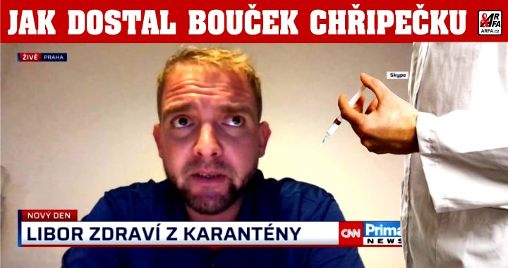 Hypochondr Bouček dostal chřipečku a tvrdí, že má koronavirus. Chudák. Půjde do karantény celá CNN Prima News?