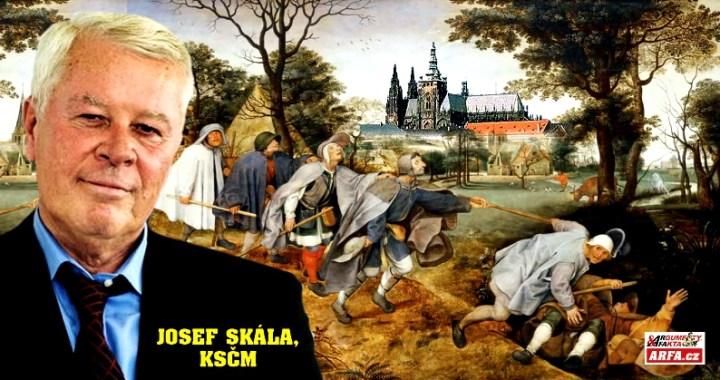 Výprask KSČM a hlavolam, kudy dál. Debakl vlastní strany nadchne jen masochistu. Chce to generální restart. Josef Skála, komentář zevnitř