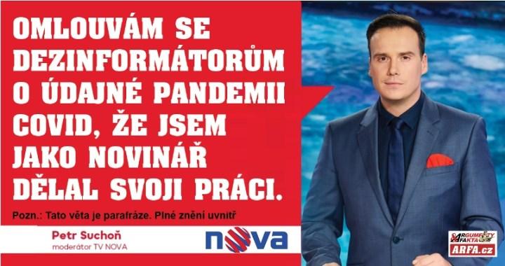 To snad ne! Moderátor TV Nova se vzepřel nadbíhání Svědkům Covidovým a dovolil se ptát šéfa lékařské komory v nesouladu s prorežimní agitkou. Musel se omluvit! KOMENTÁŘ: TOMÁŠ VYORAL.