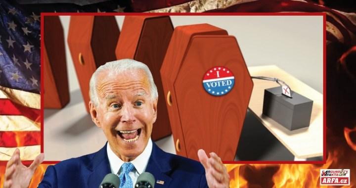 Jejda! Ve volbách v USA volili Demokratickou stranu voliči, kterým je 120 let, nebo už jsou dávno po smrti. Tady je důkaz: VIDEO z databáze. Demokracie až za hrob. Jste i vy v databázi voličů USA? Nebo vaše babička?  Zjistěte zde!