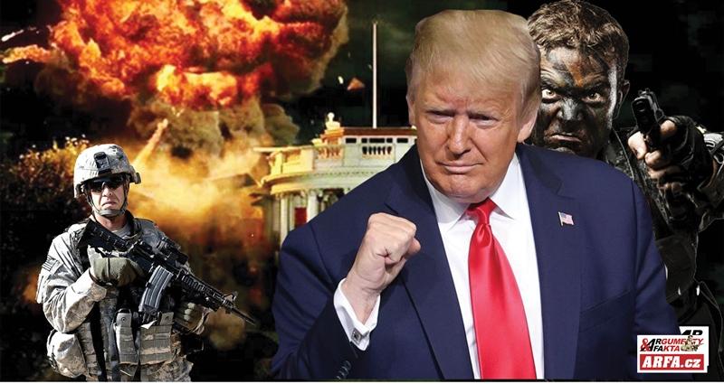 """ŽIVĚ: Příznivci Trumpa obsadili Kapitol, aby """"zabránili pokračování volebního podvodu"""". Ozývá se střelba, jsou vážně ranění. Kongresmany vyvádějí v plynových maskách. Zákaz vycházení. Zasahuje Národní garda…"""