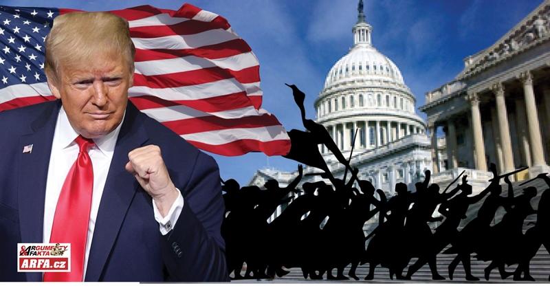 """Trump velí do útoku: """"Pochod na Washington! Rudá Čína a Deep State nám ukradli volby!"""" Začíná občanská válka? Ohrožení národní bezpečnosti, armáda v ulicích… PLUS: 36 stran důkazů, o volebních podvodech"""