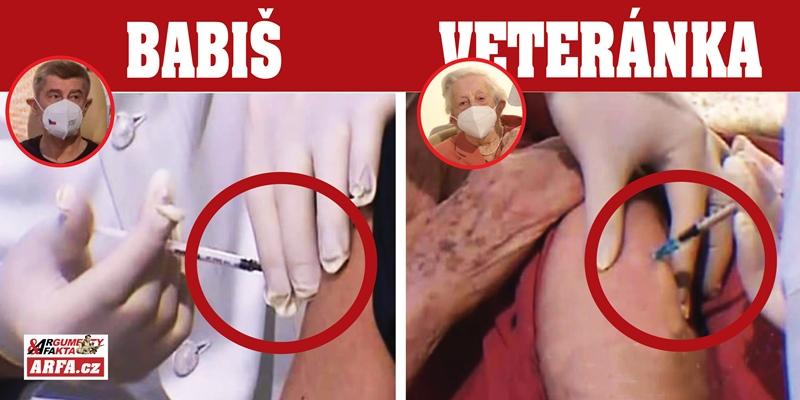 Pod lupou: Podivná vakcinace premiéra Babiše (66) a válečné veteránky Řepíkové (95). Proč dostali vpich každý jinak? Co vlastně premiérovi píchli a bylo snad celé jen divadlo?