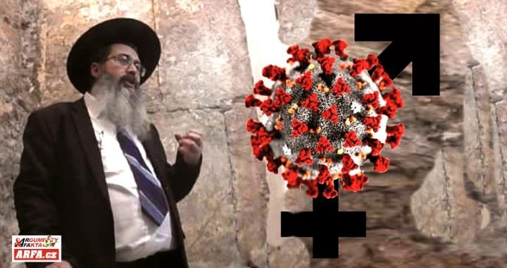 """Populární rabín varuje stoupence vakcíny proti COVID, že by z nich mohla mohla udělat homosexuály. """"Vakcíny jsou vyrobeny ze substrátů embryí a tedy…"""""""