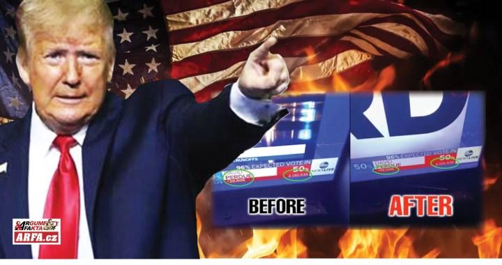 """Takhle se podvádí při volbách: 5 000 hlasů je fuč během živého vysílání. Krádež voleb ze strany radikální levice: """"Prostě zfalšujeme čísla!"""" Tady je důkaz: Stejný podvod jako při volbě prezidenta!"""