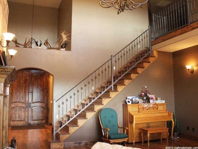 Highland Home for Sale Stairs