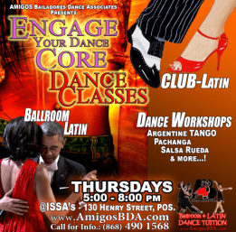 'Silver Bullet' Latin Dance Classes