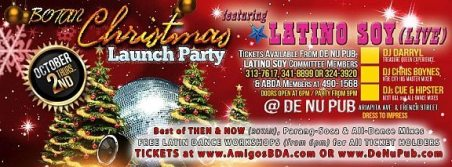 """BUY TICKETS - """"Christmas Launch Party"""" (LIVE) - Thursday 2nd October @De Nu Pub, Woodbrook - don't miss this beat . . . !"""
