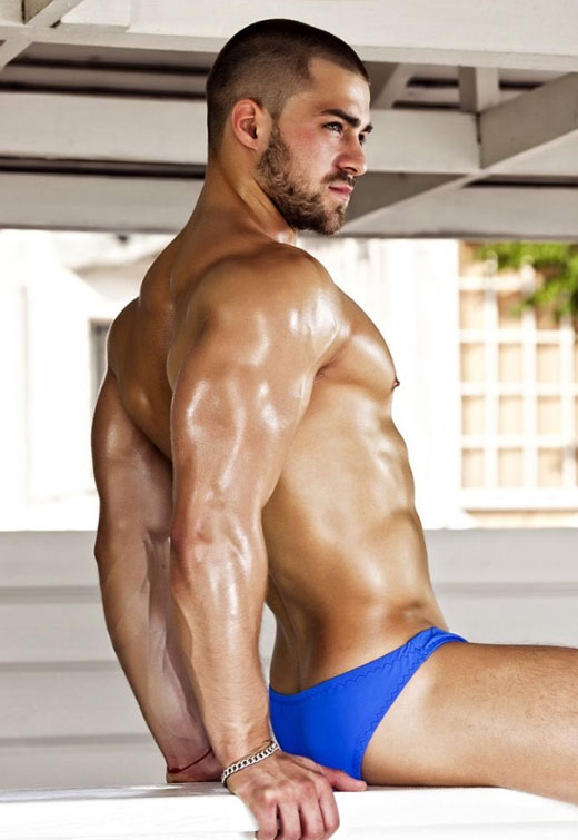 Blue Speedo Man