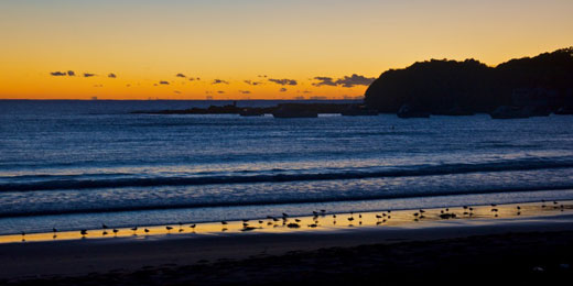 Dawn on Terrigal Beach